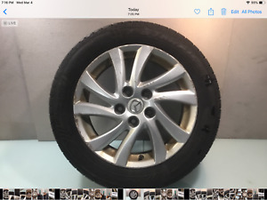 12 16 Mazda 5 Wheel Rim 16x6 1 2 10 Spoke And Tire Starfire 205 55r16 Oem E
