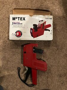 Motex Mx5500 Price Labeler