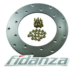 Fidanza Aluminum Flywheel Friction Plate 18 Holes 229001 For Eclipse Rx7 Wrx Vw