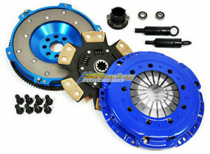 Fx Stage 3 Clutch Kit aluminum Flywheel For Bmw 325 328 M3 E34 E36 E39 M50