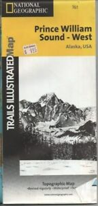 National Geographic Trails Illustrated Map 761 Prince William Sound West Alaska