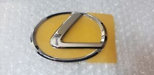 95 00 New Oem Lexus Ls400 Rear Trunk Center L Chrome Emblem 1995 1996 1997 98 99
