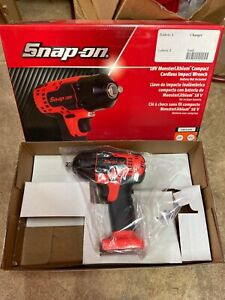 Snap On 18v Monsterlithium Compact Cordless Impact Wrench Orange Ct8810aodb
