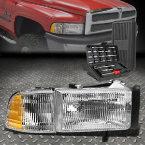 For 94 02 Dodge Ram Truck 1500 2500 3500 Passenger Side Headlight Lamps tool Set