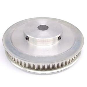 1pc Xl 60t Timing Belt Pulley Synchronous Wheel 14mm Bore For 10mm Width Belt