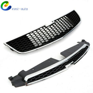 For Chevy Cruze 2011 2014 Front Bumper Upper Lower Grille Pair Set Of 2 Pcs Us