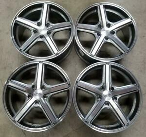 American Racing Wheels Rims 17 Inch 5x108 Anthracite Machined