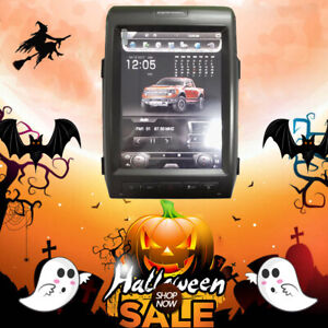 12 1 Android Radio Vertical Tesla Screen Gps For Ford F 150 2010 2011 2012 2013