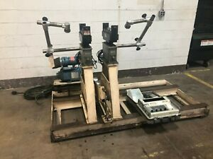 5000lb Ird Model 880 Soft Bearing Belt Driven Balancing Machine