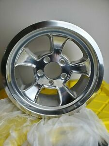 15 Halibrand Wheels 15x7 5x4 75 Pattern Old School Chevy Hot Rod Gasser Replica