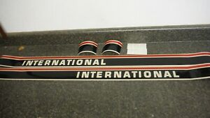 International 684 Tractor Decal Set Hood And Numbers Only See Details pics