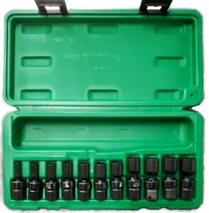 Steel Vision Tools 58361 1 4 Drive Metric Magnetic Swivel Impact Socket Set