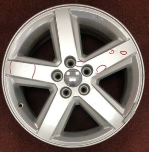 Dodge Avenger 18 2008 2009 2010 2011 2012 1an34trm Silver Used Wheel Rim 2434