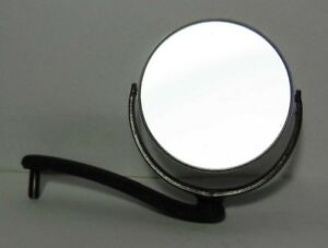 Metal And Glass Microscope Mirror 5 5 Cm 2 1 5 Reflector Assembly