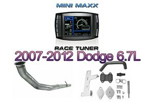 2007 2012 Mini Maxx Tuner Egr Dpf Repair Pipe Full Kit Dodge Ram Diesel Truck
