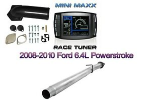 08 10 6 4l Mini Maxx Tuner Ford Powerstroke Diesel Egr Dpf Pipe Full Kit