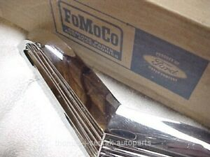 Nos 55 56 57 55 57 Ford T bird Thunderbird Hood Scoop Ornament Made In 1960 s