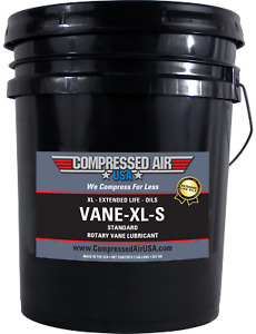 Standard Rotary Vane Air Compressor Oil Xl Extended Life Oils 5 Gal