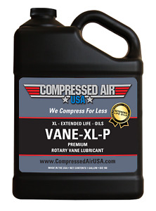 Premium Rotary Vane Air Compressor Oil Xl Extended Life Oils 1 Gal