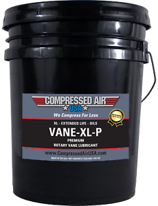 Premium Rotary Vane Air Compressor Oil Xl Extended Life Oils 5 Gal