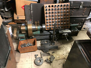 Machinist Rivett 608 Pv Watch Makers Lathe Accessories Collets Quick Change