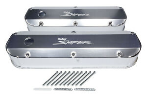 Holley Sniper Fabricated Valve Covers Sbf Tall 890012