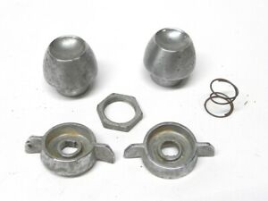 1958 Caddillac Used Radio Knob Lot Great For Antique Car Restoration Projects