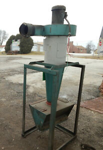 Cyclone Dust Collector On Stand With Marathon Electric D394 Motor 3450 2850rpm