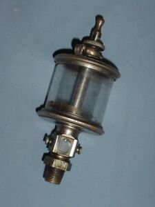 Powell Signal Flat Glass Hit Miss Gas Steam Engine Oiler