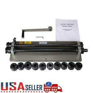 Bead Roller Rolling Tool Sheet Metal Steel Gear Drive Rotary Machine W 6dies
