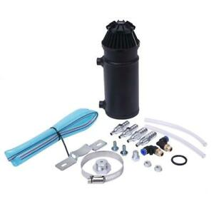 High Quality Oil Catch Reservoir Breather Can Tank filter Kit Cylinder Aluminum