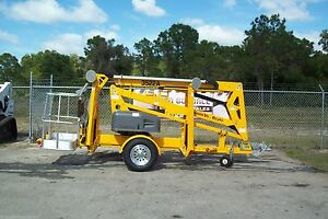 Haulotte 3522a 43 Towable Boom Lift 22 Outreach new 2020s we Ship 1 00 Mile