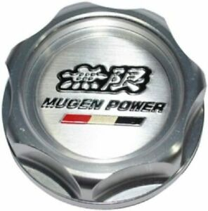 Genuine Jdm Mugen Power Silver Oil Filler Cap Rsx S2000 Vtec Tsx Accord Civic