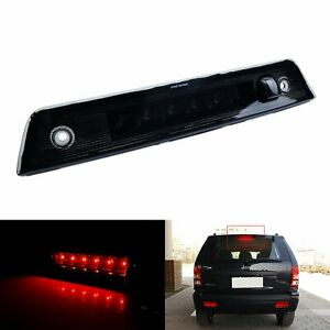 For Jeep Grand Cherokee 05 10 Black Lens Led Center High Mount Third Brake Light