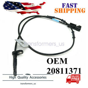 20811372 Abs Wheel Speed Sensor Front Left Side For Chevy Equinox Gmc Terrain