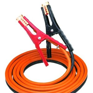 Bayco Medium duty 12 Ft Booster Cable 400 Amp Jumper Cables Baysl 3004 New