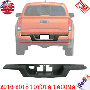 Rear Bumper Step Pad Without Parking Sensor Holes For 2016 2018 Toyota Tacoma