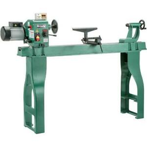Grizzly G0462 110v 16 Inch X 46 Inch Wood Lathe With Dro