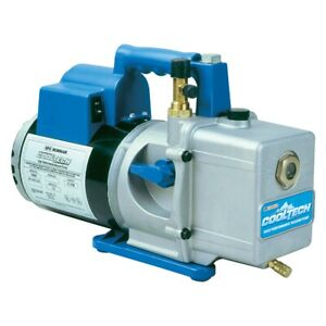 Cooltech 6 Cfm Two Stage Vacuum Pump Rob15600 Brand New