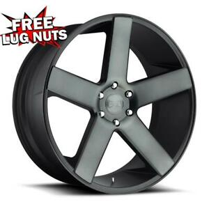 28 Inch 28x10 Dub 1pc S116 Baller Dark Tinted Wheels 6x5 5 6x139 7 31