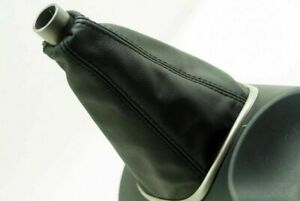 Synthetic Manual Shift Boot Cover Skin Leather Fits Acura Rsx 2002 2006 Black