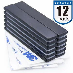 Waterproof Neodymium Bar Magnets With Epoxy Coating Powerful Permanent 12