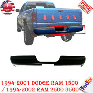 Rear Step Bumper For 1994 2001 Dodge Ram 1500 1994 02 Ram 2500 3500 Primed Steel