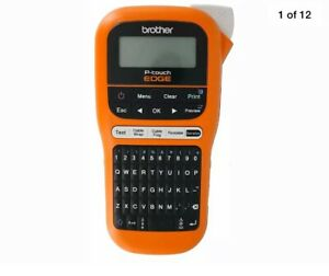 New Brother P touch Edge Pt e105 Handheld Industrial Cable Wire Label Maker