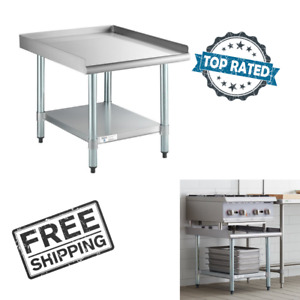 30 X 24 Stainless Steel Table Commercial Mixer Grill Heavy Equipment Stand New