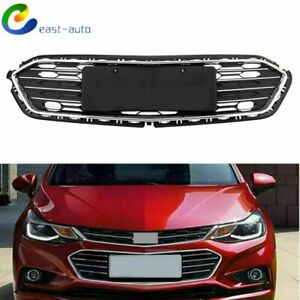 For Chevrolet Cruze 2016 2017 2018 Black Front Bumper Lower Grill Grille 1pc Us