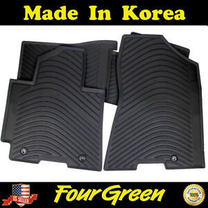 All Weather Rubber Floor Mats For 2016 2021 Hyundai Tucson