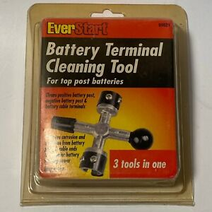 New Everstart 4 Way Battery Post Cleaning Tool And Terminal Cleaner