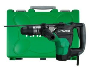 Hitachi Dh40mc 1 9 16 Sds Max Rotary Hammer With Case