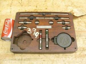 Vintage Pratt Whitney Brown Sharp Van Norman Mill Gauge Micrometer Bar Set